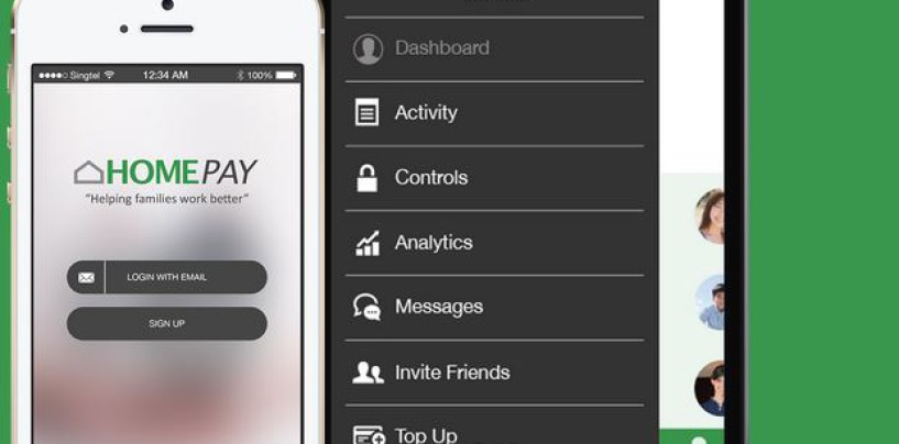 HomePay Singapore Helps Families Manage Their Finances And Go Cashless