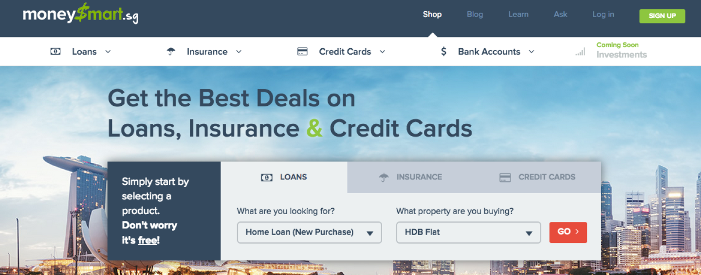 MoneySmart: A Singaporean Personal Finance Portal