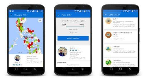 coins ph bitcoin p2p money transfers mobile app