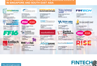 20 Upcoming Fintech and Digital Banking Events in Singapore and Southeast Asia