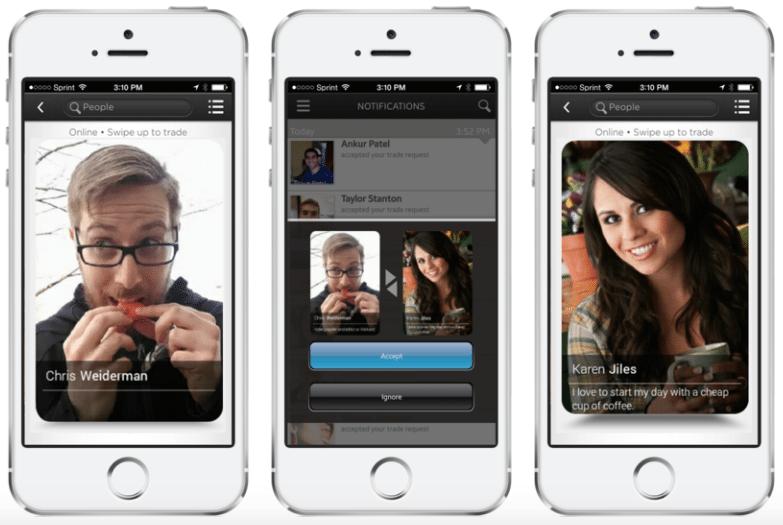 VisiKard social payments app