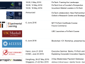 Fintech and Blockchain Education: University Courses, Executive Seminars and Workshops