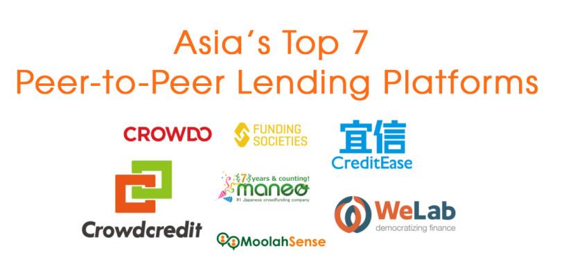 Asia's Top 7 Peer-to-Peer Lending Platforms