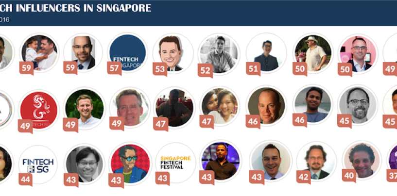 Singapore's 30 Most Influential Fintech Experts and Social Media Gurus