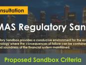 "MAS Proposes a ""Regulatory Sandbox"" for FinTech Experiments"