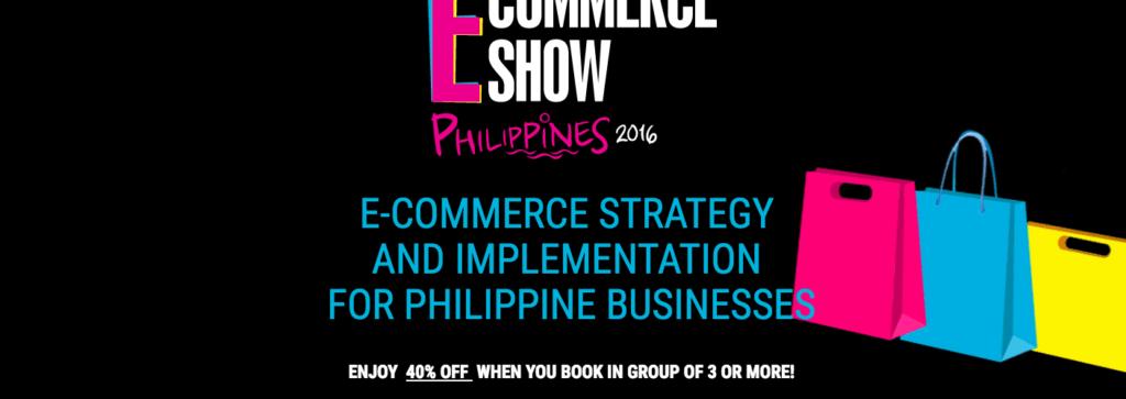 E-commerce Show Philippines 2016