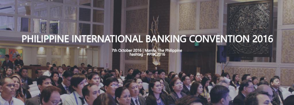 PHILIPPINE INTERNATIONAL BANKING CONVENTION 2016 | Philippines Fintech events