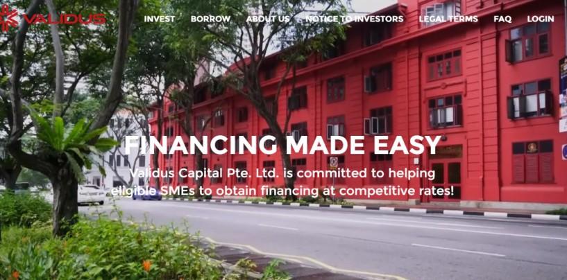 First Singapore SME Lending Platform to Provide Investor Protection