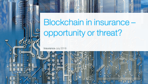 blockchain in the insurance business mckinsey report july 2016