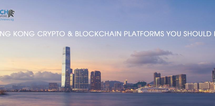 6 Hong Kong Crypto and Blockchain Platforms You Should Know