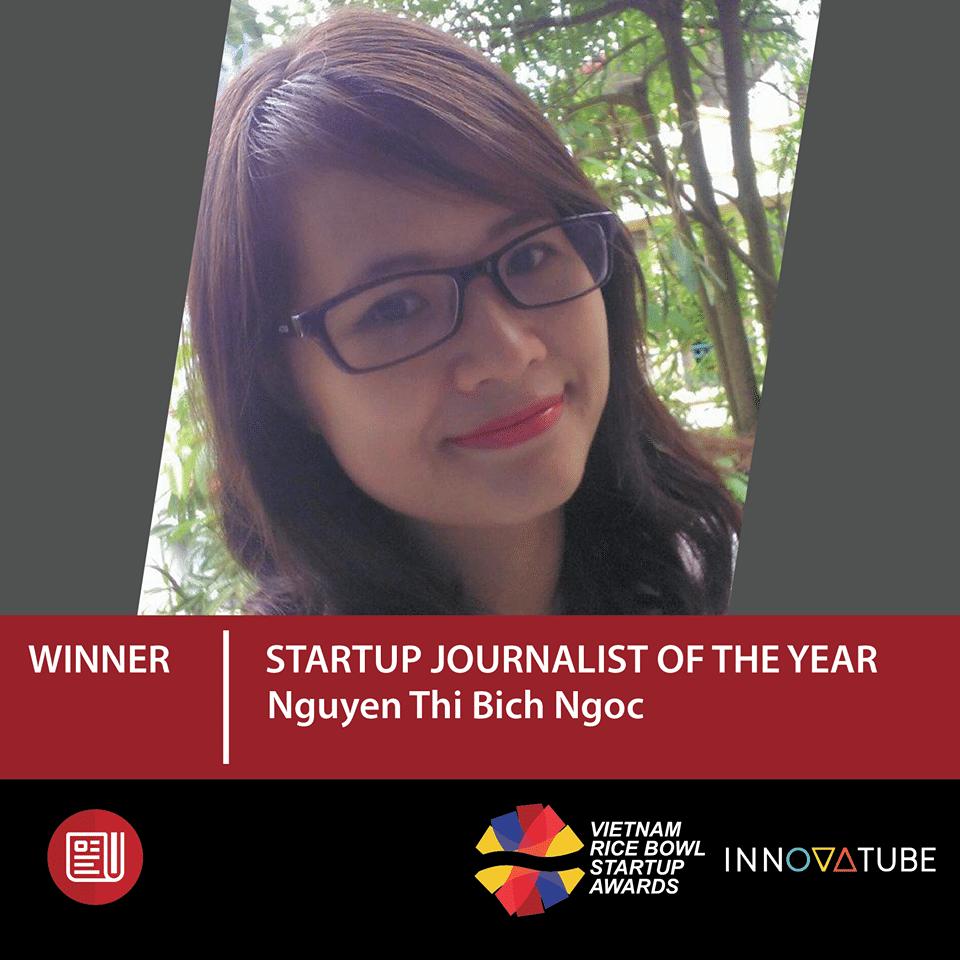 nguyen thi bich ngoc startup journalist of the year