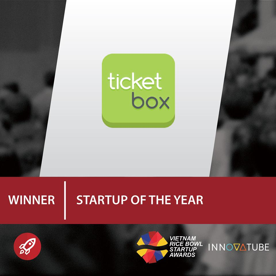 ticketbox startup of the year vietnam rice bowl startup awards