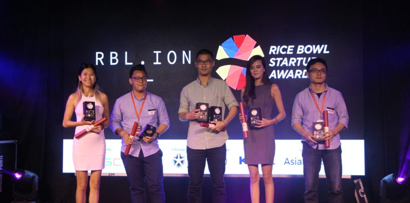 The Rice Bowl Startup Awards Finale Night 2016 in Manila – GRAB as Startup of The Year
