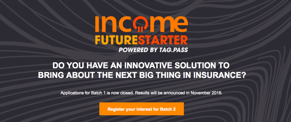 Income Future Starter, powered by TAG.PASS