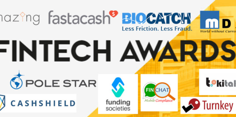 The 10 FinTech Award Singapore Winners, 250'000 goes to….