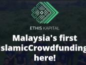 EthisKapital.com – World's First Licensed Islamic P2P/Crowdfunding Platform