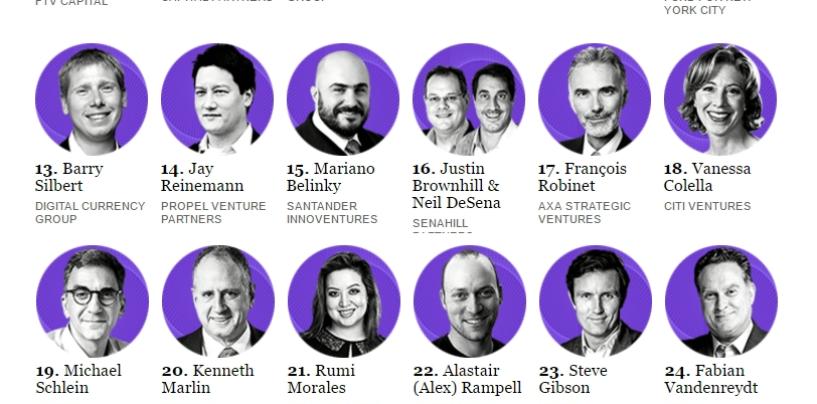 The 2016 Fintech Finance 35: Fintech's Most Powerful Dealmakers of 2016