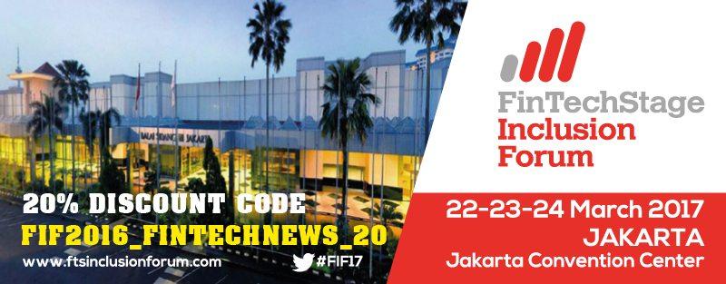 """20% Discount Code: """"FIF2016_FINTECHNEWS_20"""". Register NOW!"""