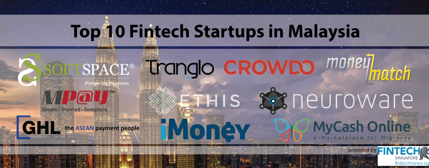 Top 10 Fintech (Startups) in Malaysia