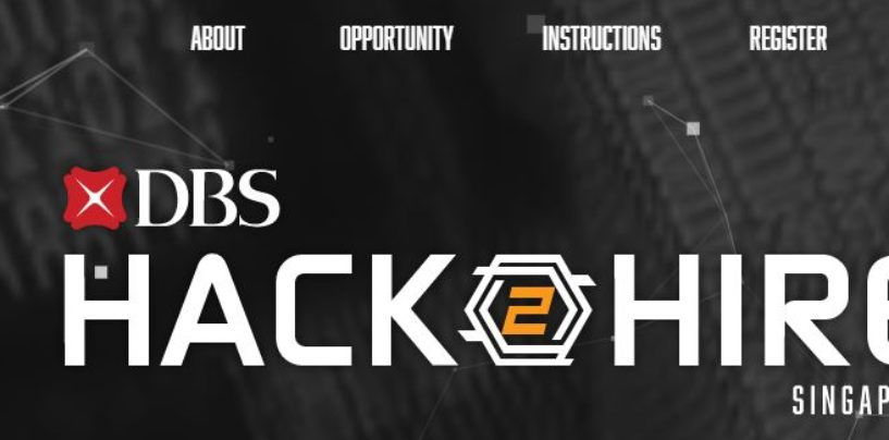 DBS to Hire 100 Developers via First-of-its-kind Hackathon