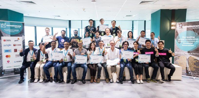 Startupbootcamp Reveals 12 FinTech Startups for Singapore Programme