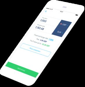 TransferWise mobile app