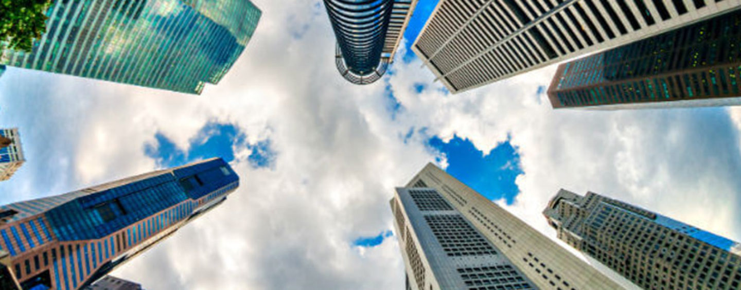 How are FinTech based enterprises bringing about a 'Positive Disruption' in Singapore?