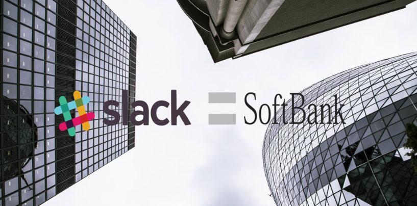 SoftBank Vision Fund – Investment in Slack, the Business Communication Platform