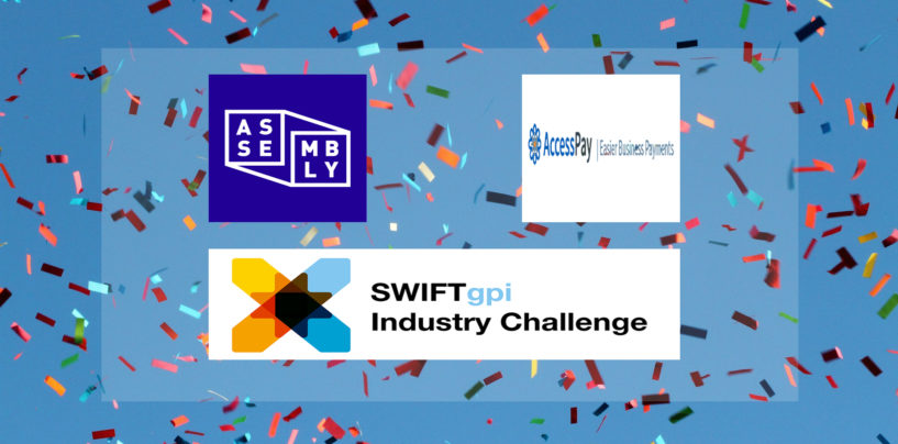 AccessPay and Assembly Payments win SWIFT's Global GPI Industry Challenge