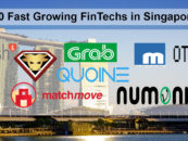 10 Fast Growing FinTechs in Singapore