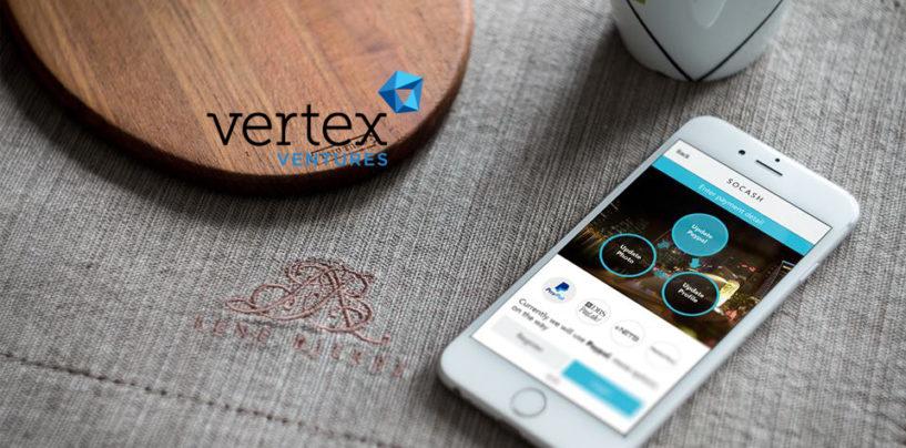 SoCash Raises Series A From Vertex Ventures