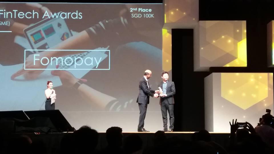 Mas Fintech Award Singapore SME Winner - FOMOPAY