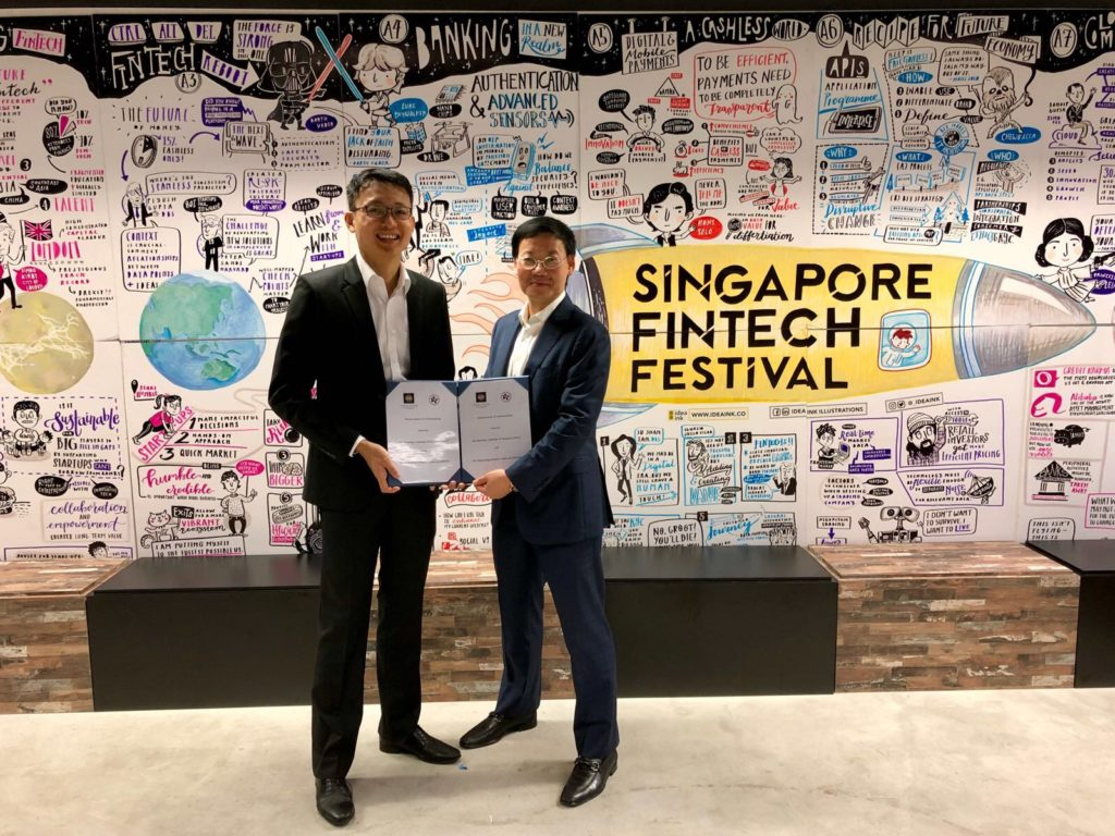 Singapore and Hong Kong launch a joint project on cross-border trade and trade finance platform