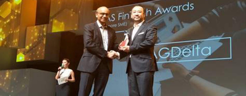 AGDelta wins MAS Fintech Awards (Singapore SME) at the 2017 Fintech Awards