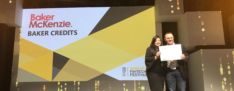 Data Rights Management Platform Trunomi Wins Inaugural BakerCREDITS Award at Singapore FinTech Festival