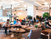 WeWorkunveiled its Singapore location / 2 Fintech Startups join