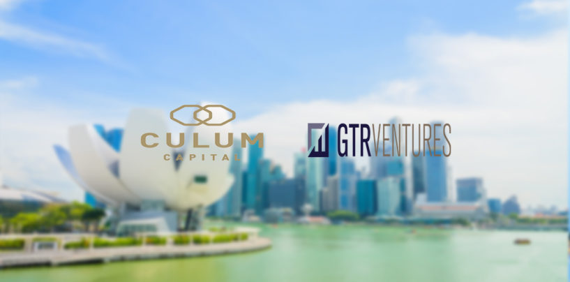 Culum Capital announce investment from GTR Ventures