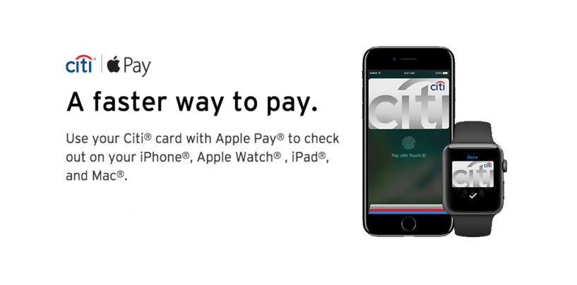 Citi Launches Apple Pay in Singapore and Hong Kong