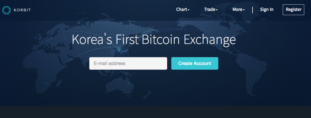 Korbit Korean Cryptocurrency Exchanges