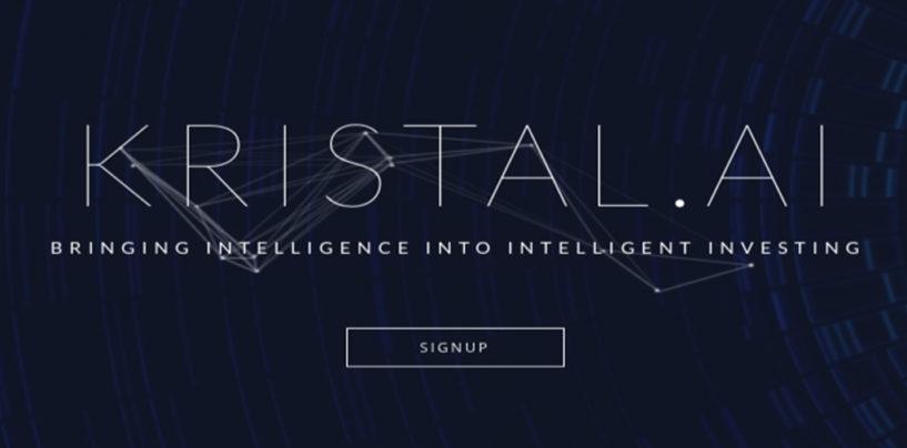Digital Asset Management Platform Kristal.AI Raises $1.85M Seed Round of Funding