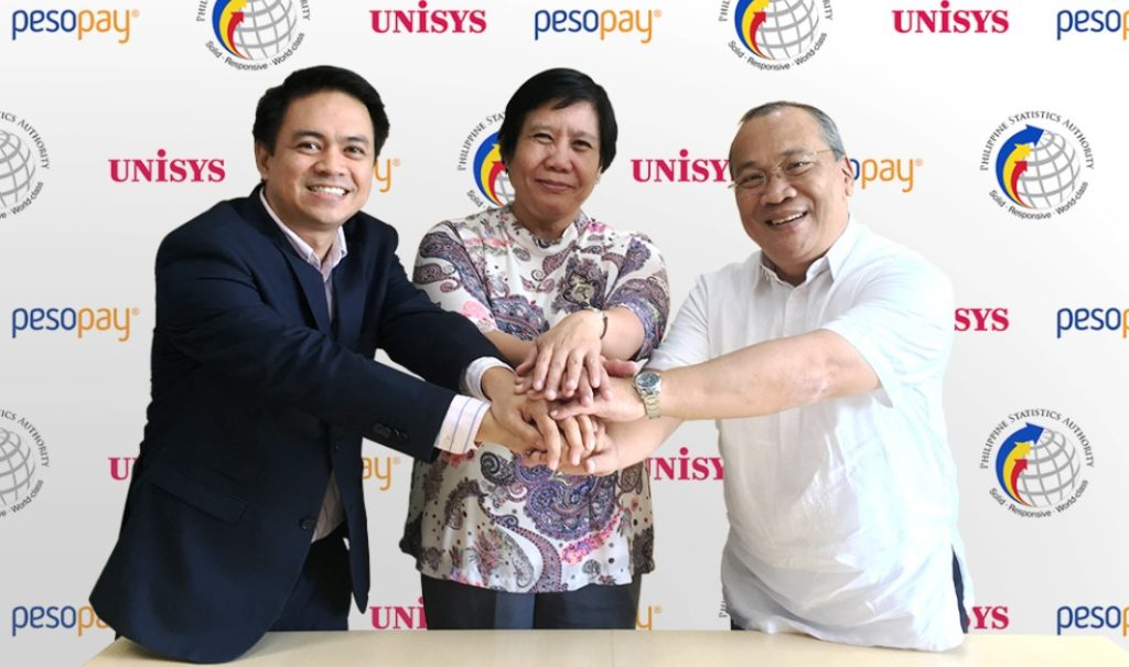 Unisys taps PesoPay to advance online payments for Philippine Statistics Authority