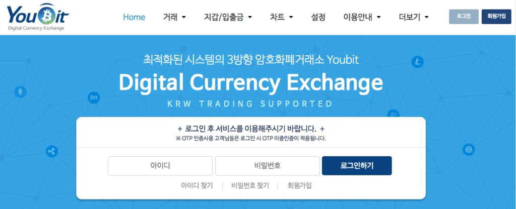 Youbit Korean Cryptocurrency Exchanges