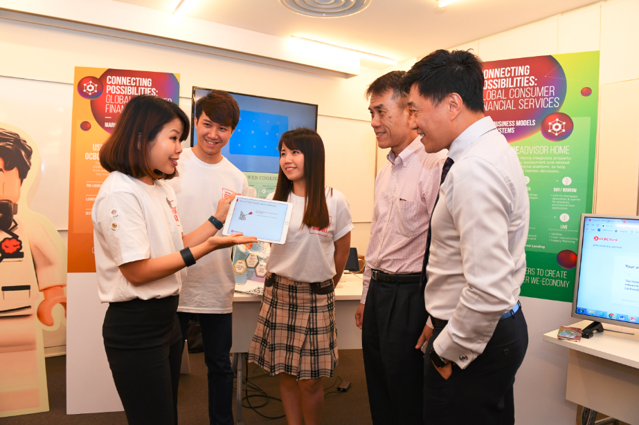 OCBC Future Smart Programme event