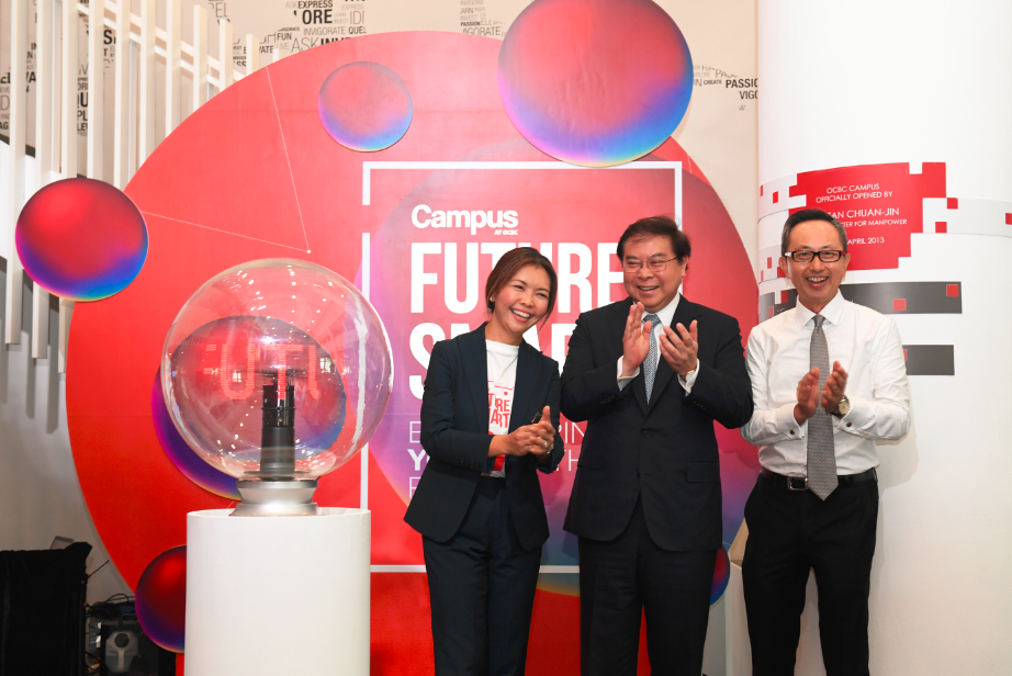 launch of the OCBC Future Smart Programme on
