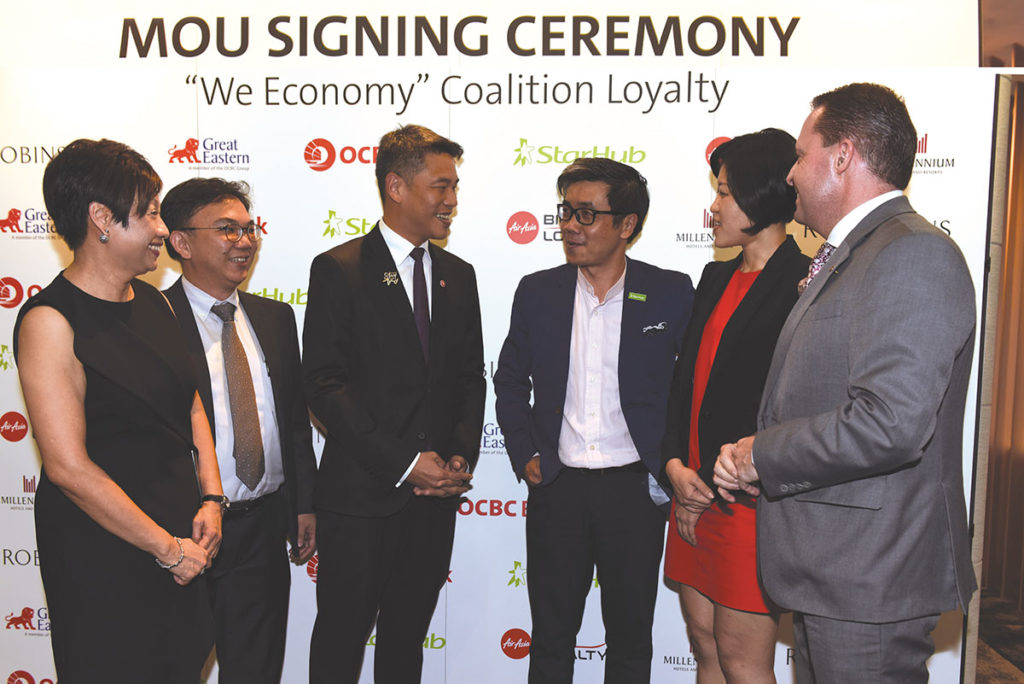 StarHub-OCBC Bank multi-industry-coalition loyalty programme