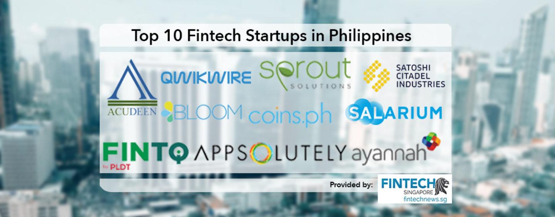 Top 10 Fintech Startups in Philippines 2018