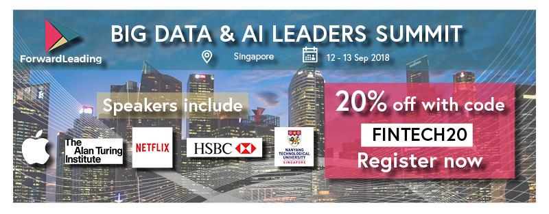 singapore fintech event Big Data & ai leaders summit
