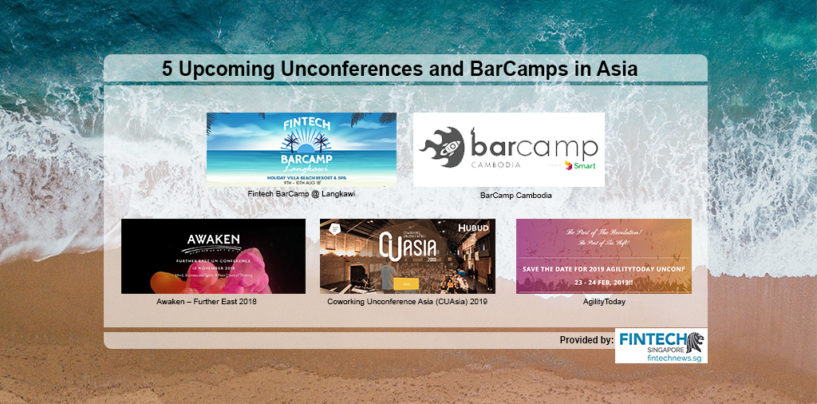 5 Cool Upcoming Unconferences and BarCamps in Asia