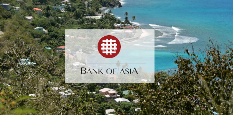 Bank Of Asia Launches Fully Digital Offshore Banking From a Tax Haven
