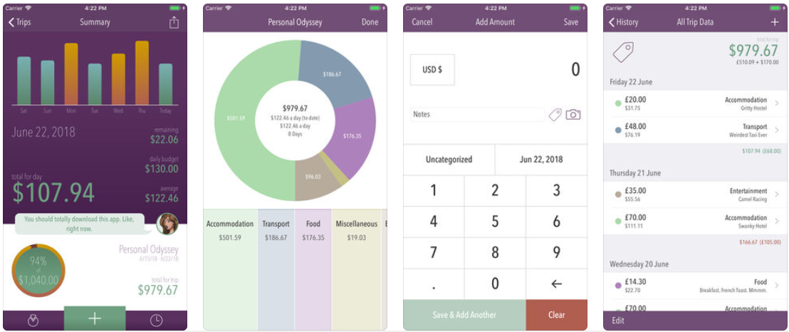 digital nomad traveller singapore fintech app trail wallet